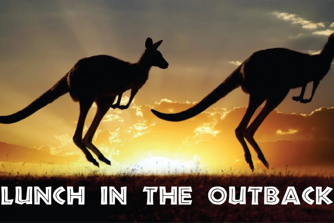 LUNCH IN THE OUTBACK