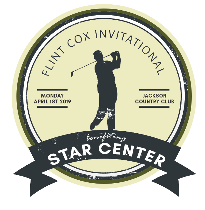 Flint Cox Invitational Golf Tournament, Monday April 1st 2019, Jackson Country Club, benefiting STAR CENTER