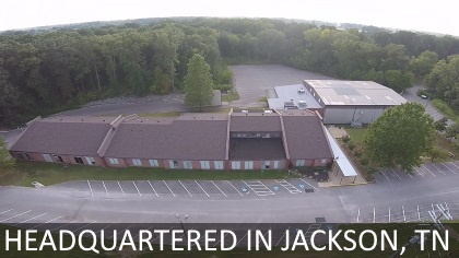 Headquartered in Jackson TN