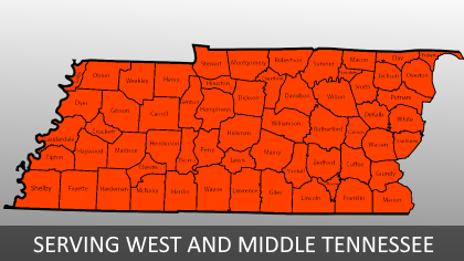 Serving West and Middle Tennessee